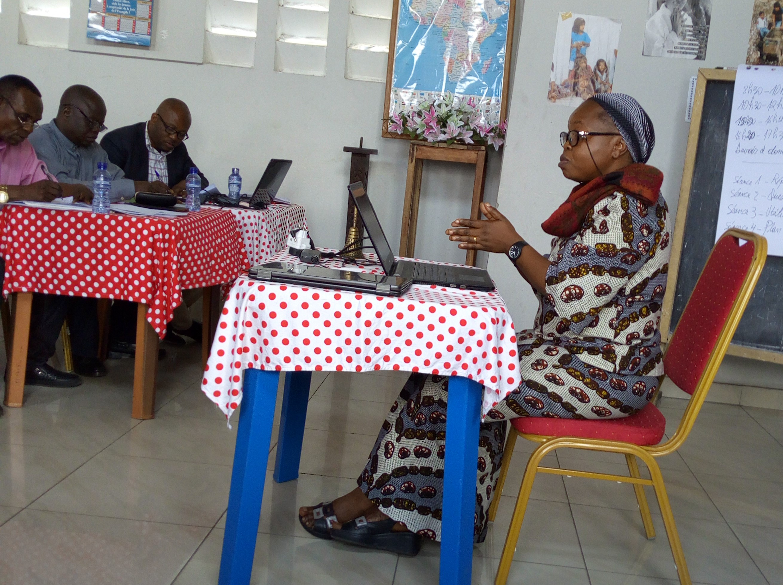 Soeur Cathérine Mitembi, Secrétaire Générale de l'USUMA