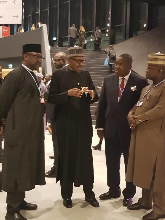 Président du Nigeria au COP24